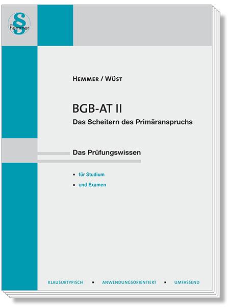 Skript BGB AT II Scheitern des Primäranspruchs