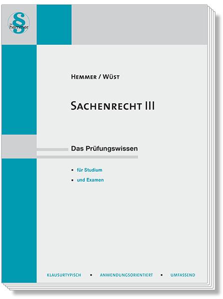 Skript Sachenrecht III
