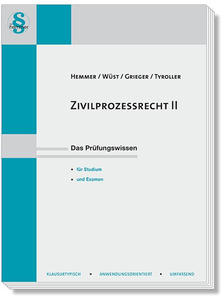 Skript Zivilprozessrecht (ZPO) II