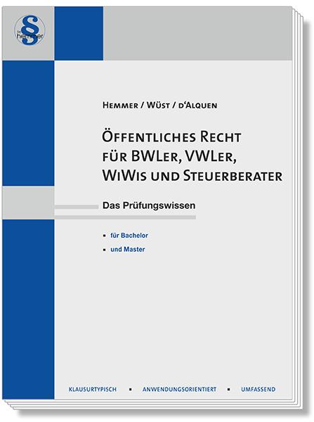 Öffentliches Recht für BWLer WiWis und Steuerberater