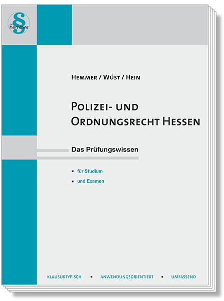Skript Polizei- und Ordnungsrecht Hessen