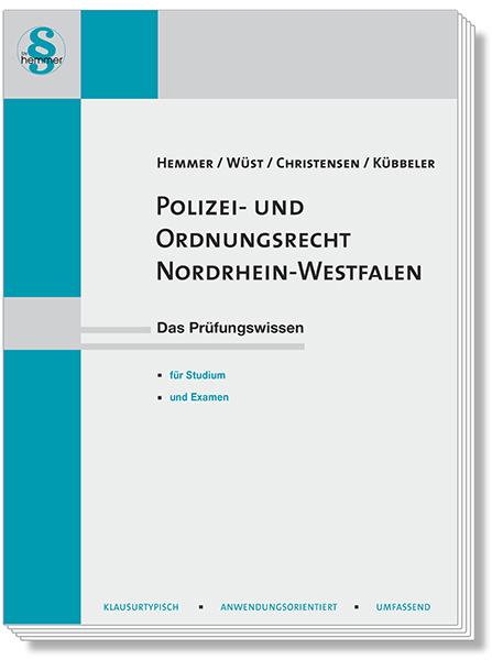 Skript Polizei- und Ordnungsrecht Nordrhein-Westfalen