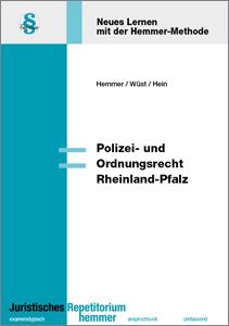 Skript Polizei- und Ordnungsrecht Rheinland-Pfalz