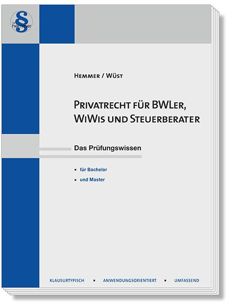 Privatrecht für BWLer WiWis Steuerberater