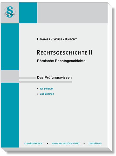 Skript Rechtsgeschichte II