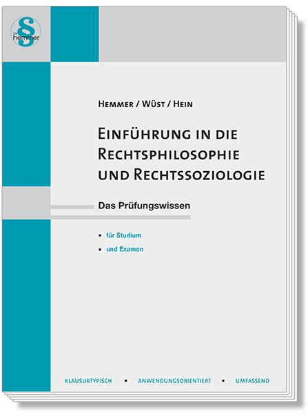 Skript Einführung in die Rechtsphilosophie und Rechtssoziologie