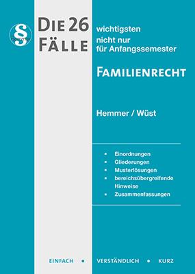eBook - Die 26 wichtigsten Fälle Familienrecht
