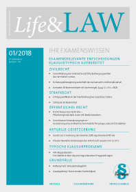 Life&LAW Ausgabe 2018/01
