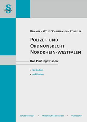 eBook Polizei- und Ordnungsrecht Nordrhein-Westfalen