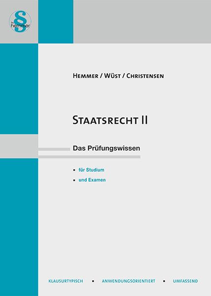 eBook Staatsrecht II