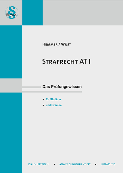 eBook Strafrecht AT I