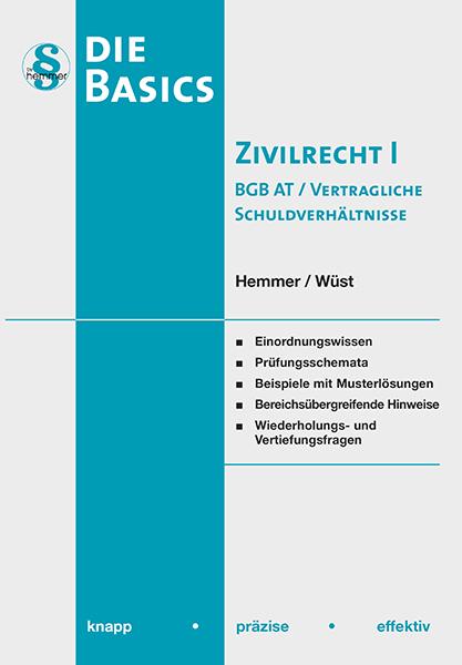 eBook Basics Zivilrecht I - BGB AT / Vertragliche Schuldverhältnisse