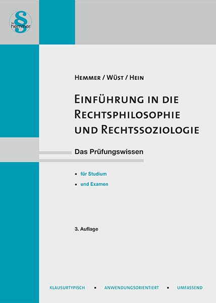 eBook Einführung in die Rechtsphilosophie und Rechtsoziologie