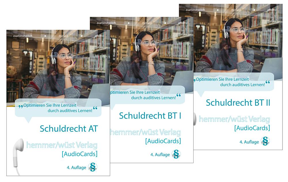 Audiocards - Schuldrecht AT, Schuldrecht BT I & II - Download