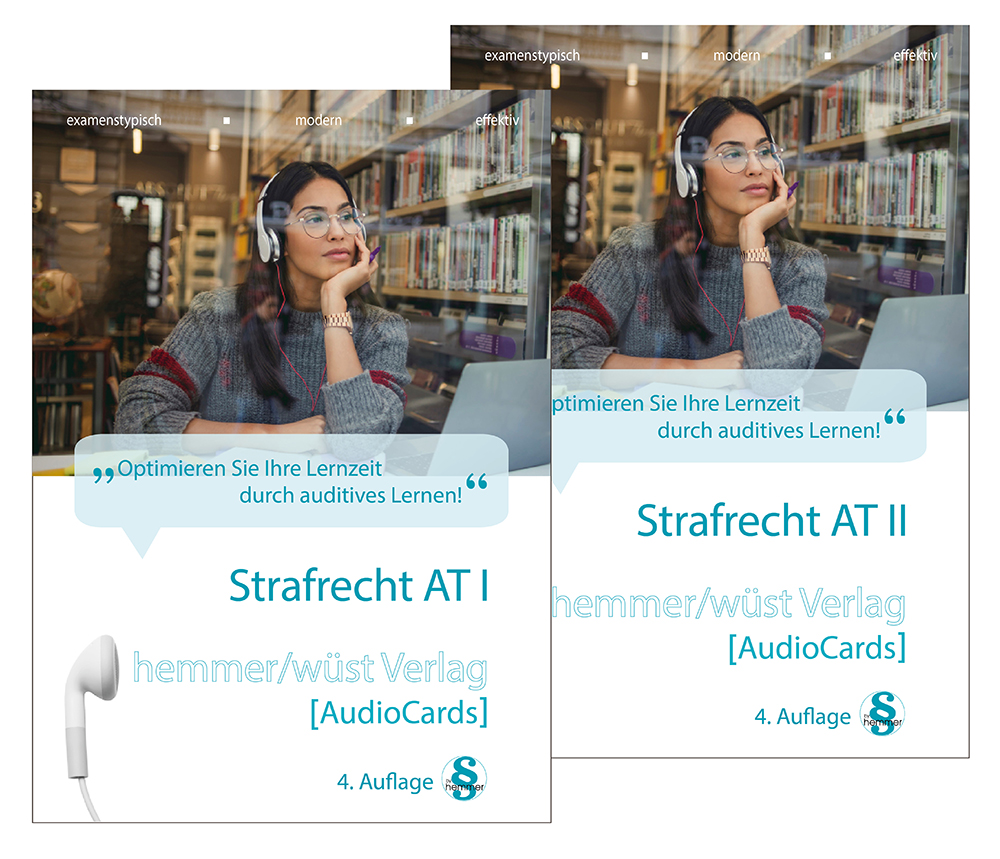 Audiocards - Strafrecht AT I & II - Download