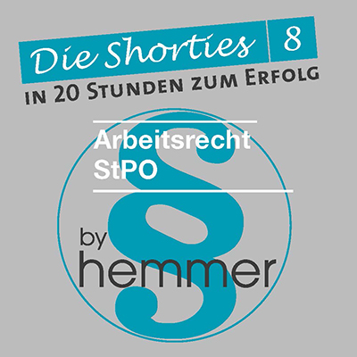 Shorties Box 8: ArbeitsR, StPO