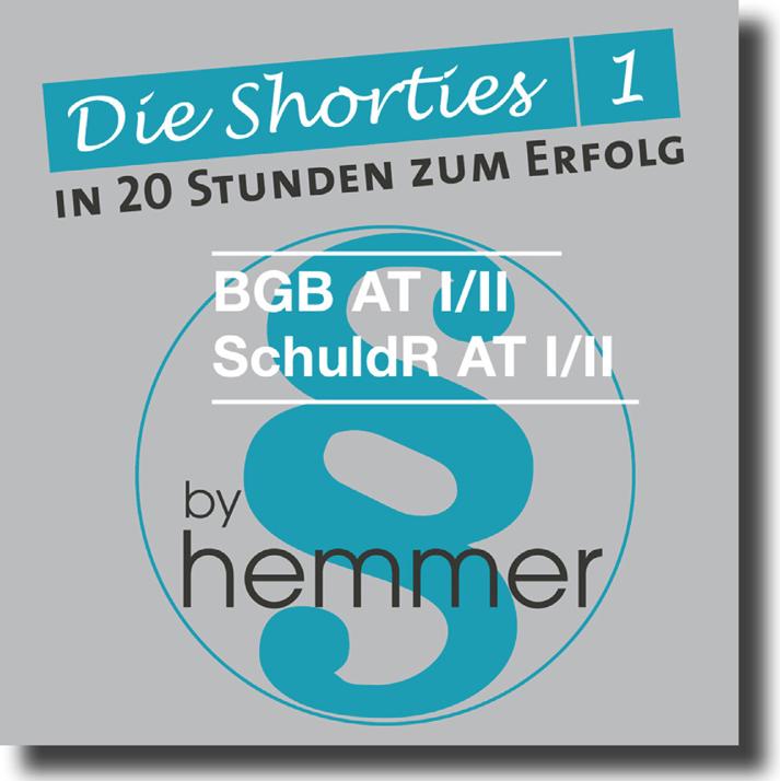 Shorties 1 Box 1: BGB AT, Schuldrecht AT