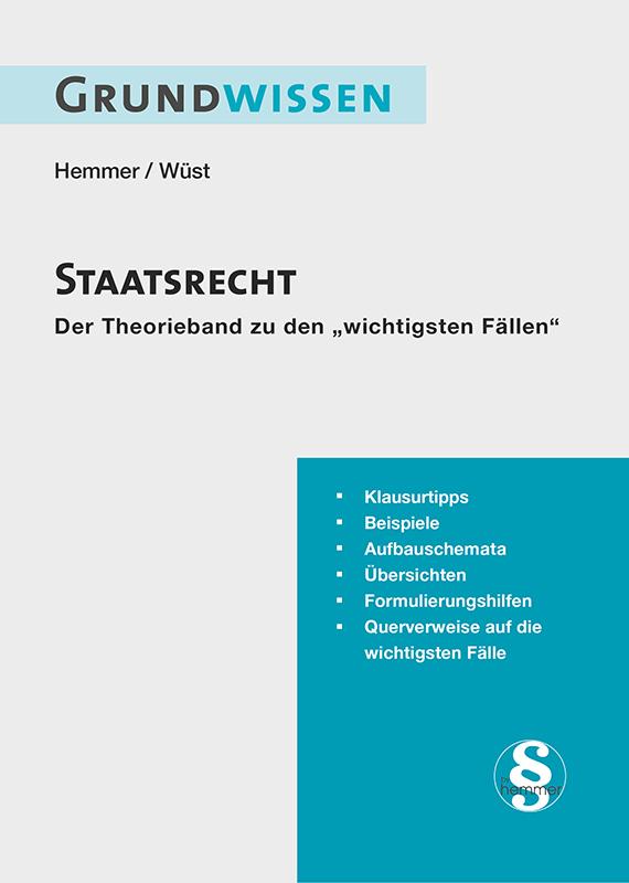 ebook Grundwissen Staatsrecht