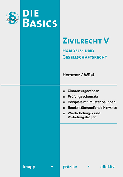 eBook Basic Zivilrecht V - Handels- und Gesellschaftsrecht