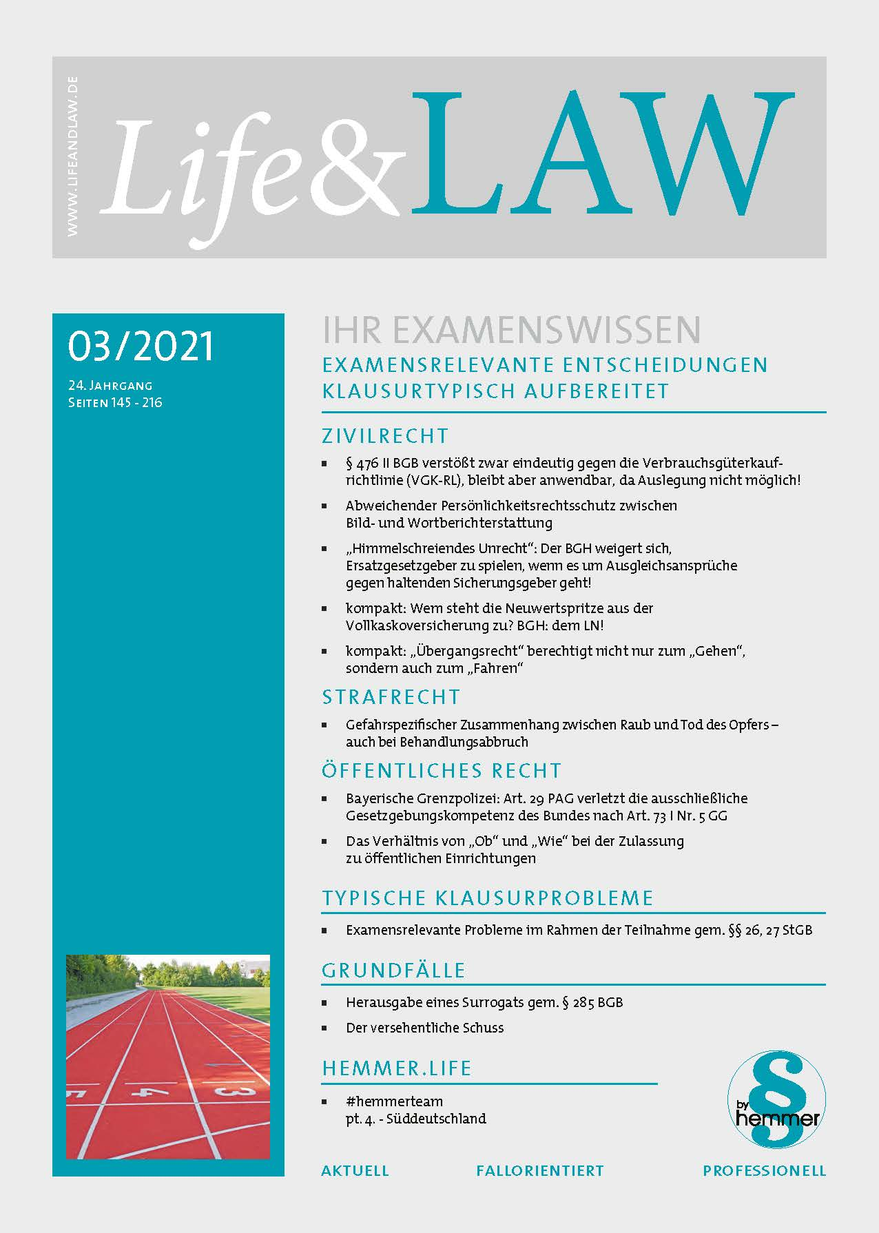 Life&LAW digital Ausgabe 2021/03
