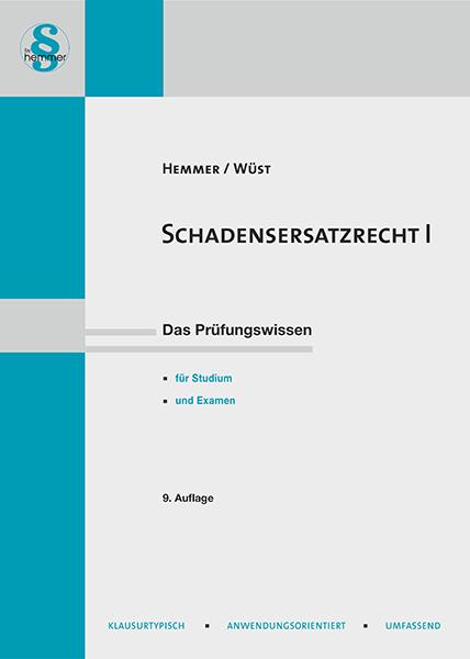eBook Schadensersatzrecht I