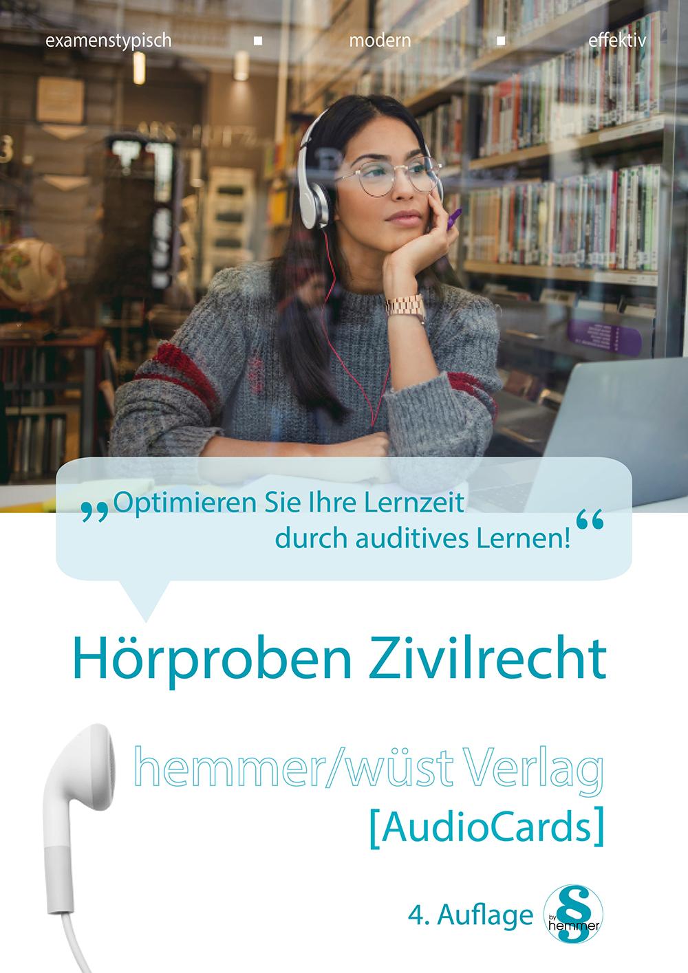 AudioCards Hörproben Zivilrecht
