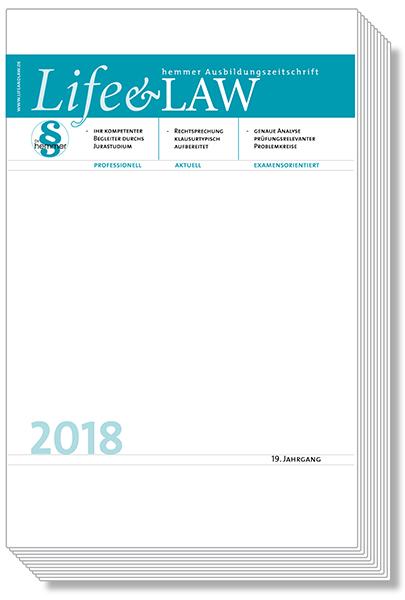 Life&Law Jahrgangsband 2018