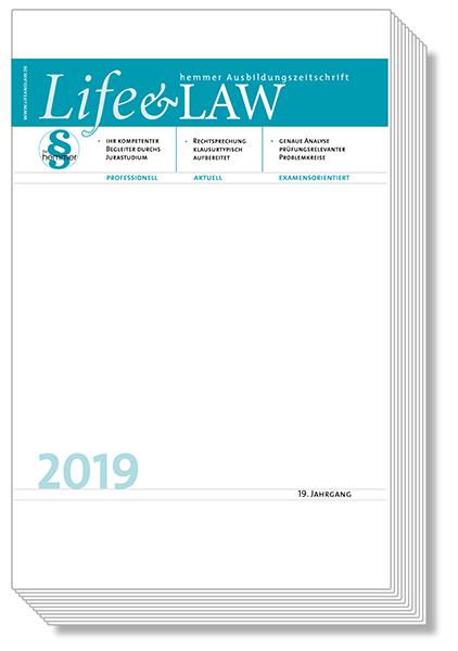 Life&Law Jahrgangsband 2019