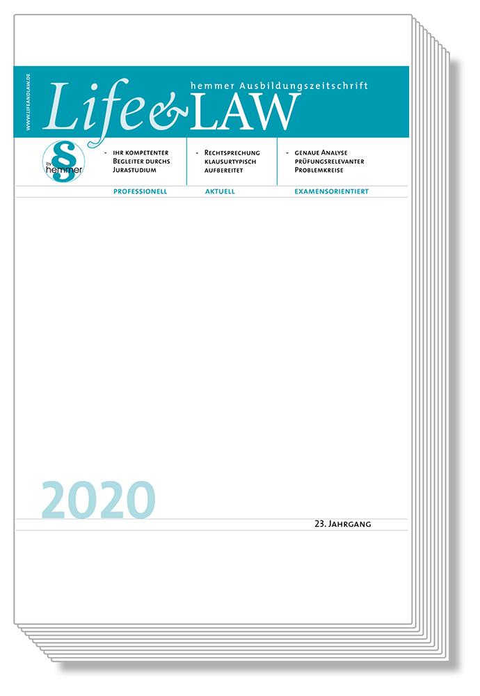 Life&Law Jahrgangsband 2020