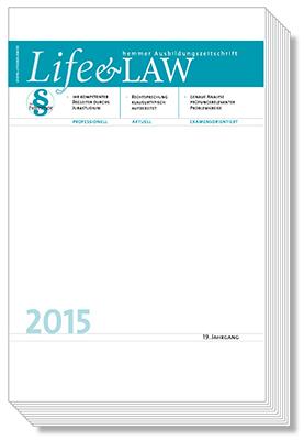 Life&Law Jahrgangsband 2015