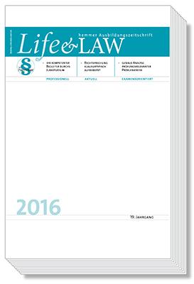 Life&Law Jahrgangsband 2016
