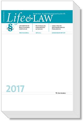 Life&Law Jahrgangsband 2017