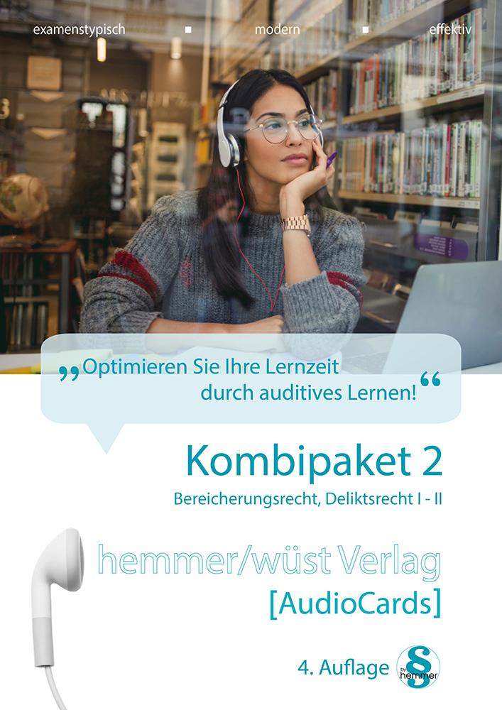 Audiocards - Kombipaket 2 - Deliktsrecht und Bereicherungsrecht - Download