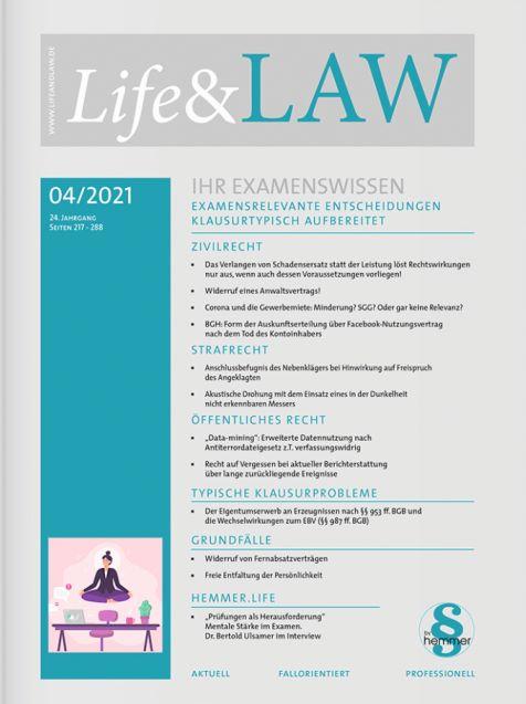 Life&LAW digital Ausgabe 2021/04