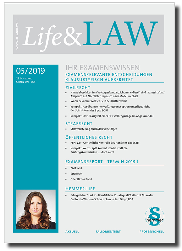 Life&LAW Ausgabe 2019/05