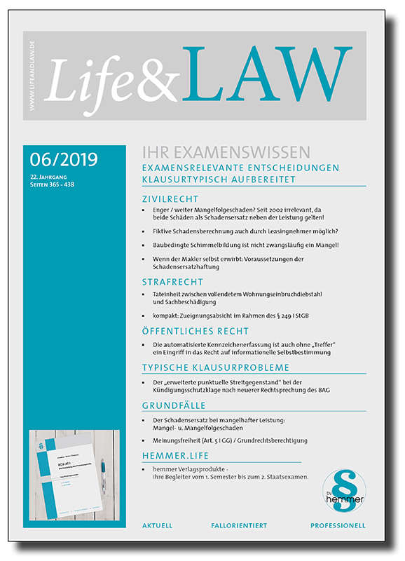 Life&LAW Ausgabe 2019/06