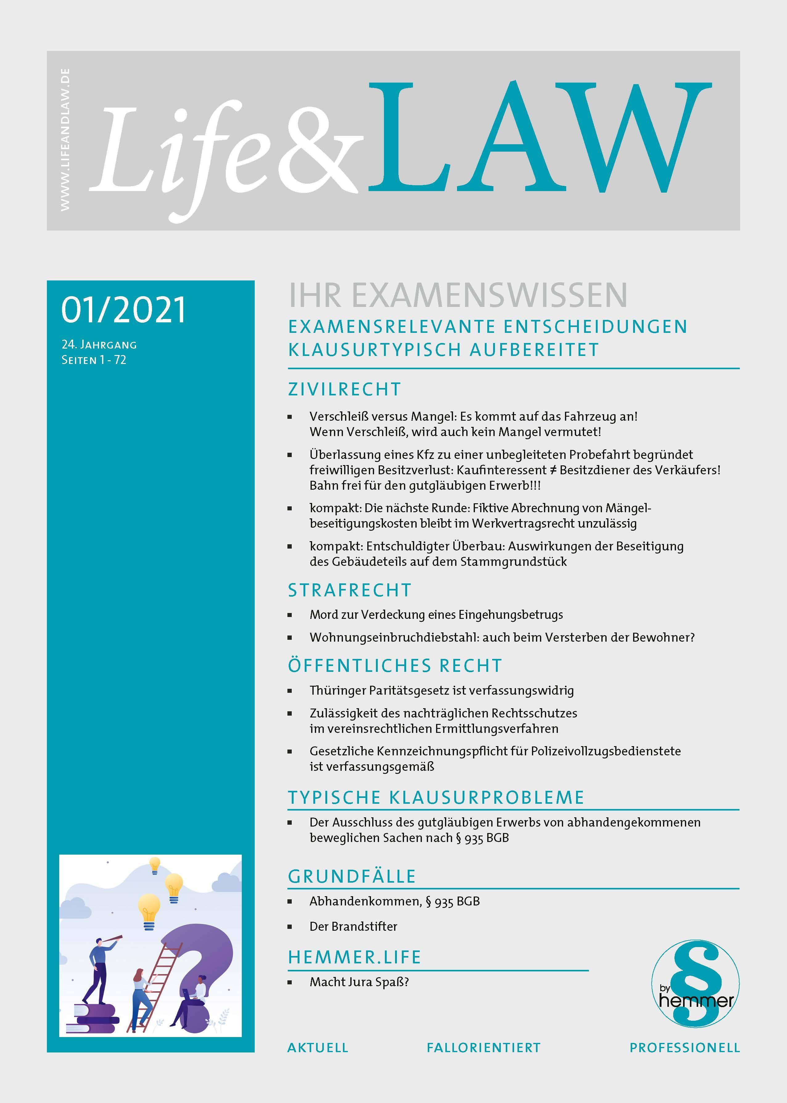 Life&LAW digital Ausgabe 2021/01