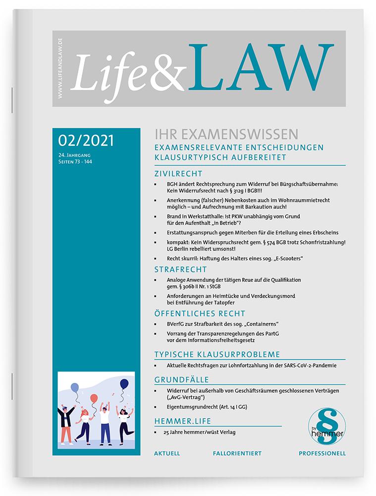 Life&LAW Ausgabe 2021/02