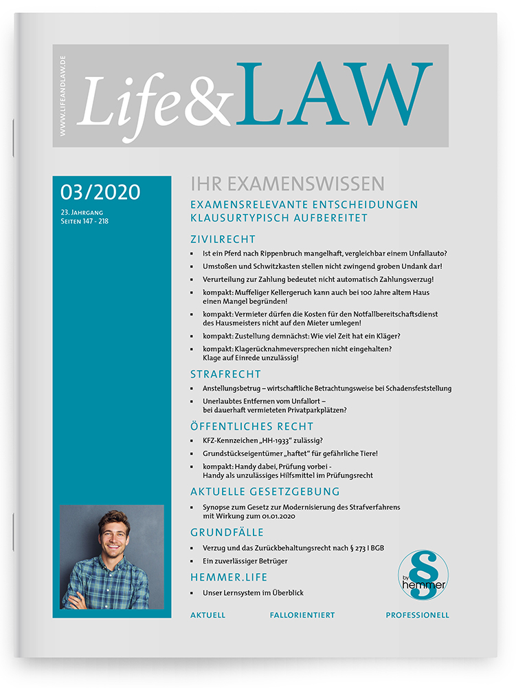 Life&LAW Ausgabe 03/2020