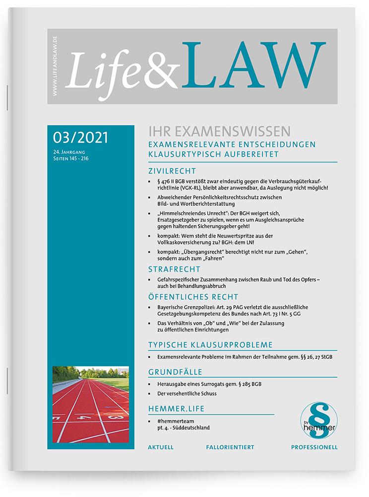 Life&LAW Ausgabe 2021/03
