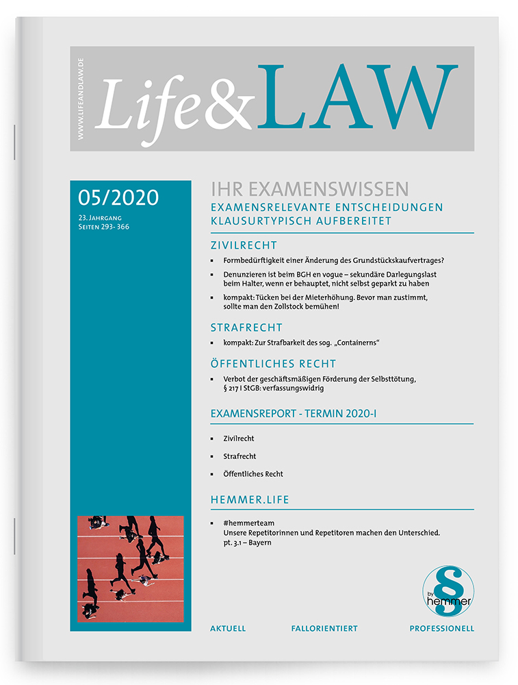 Life&LAW Ausgabe 2020/05