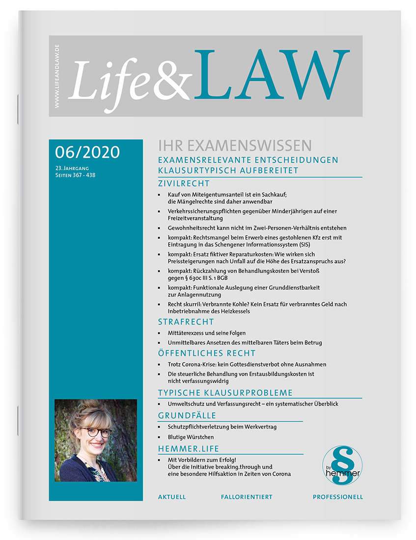 Life&LAW Ausgabe 2020/06
