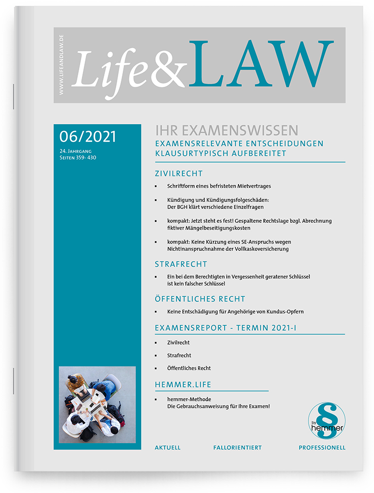 Life&LAW Ausgabe 2021/06