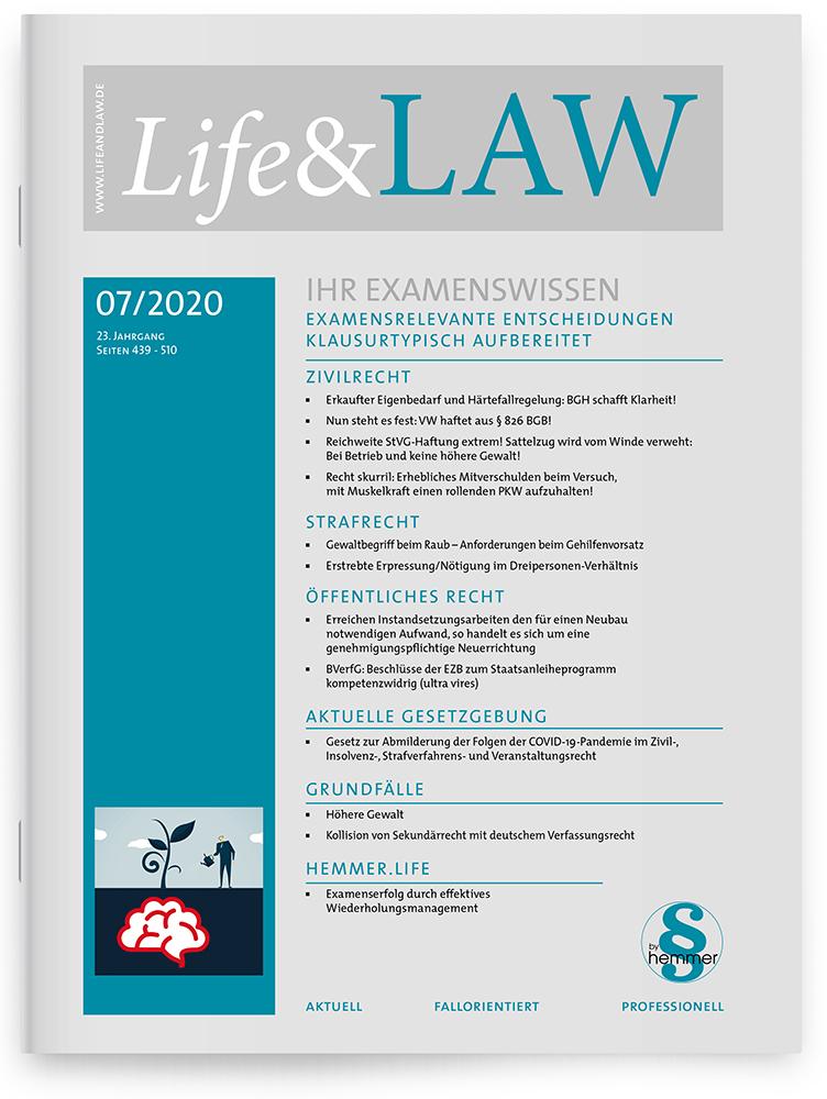 Life&LAW Ausgabe 2020/07