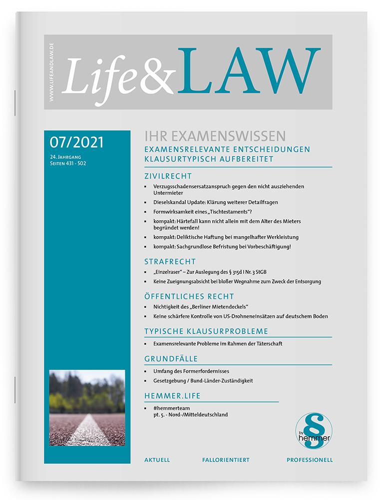 Life&LAW Ausgabe 2021/07