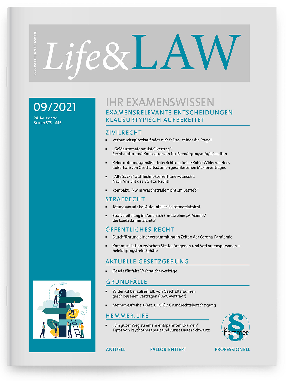Life&LAW digital Ausgabe 2021/09