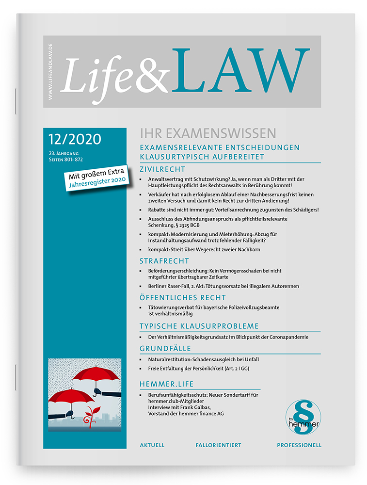 Life&LAW Ausgabe 2020/12