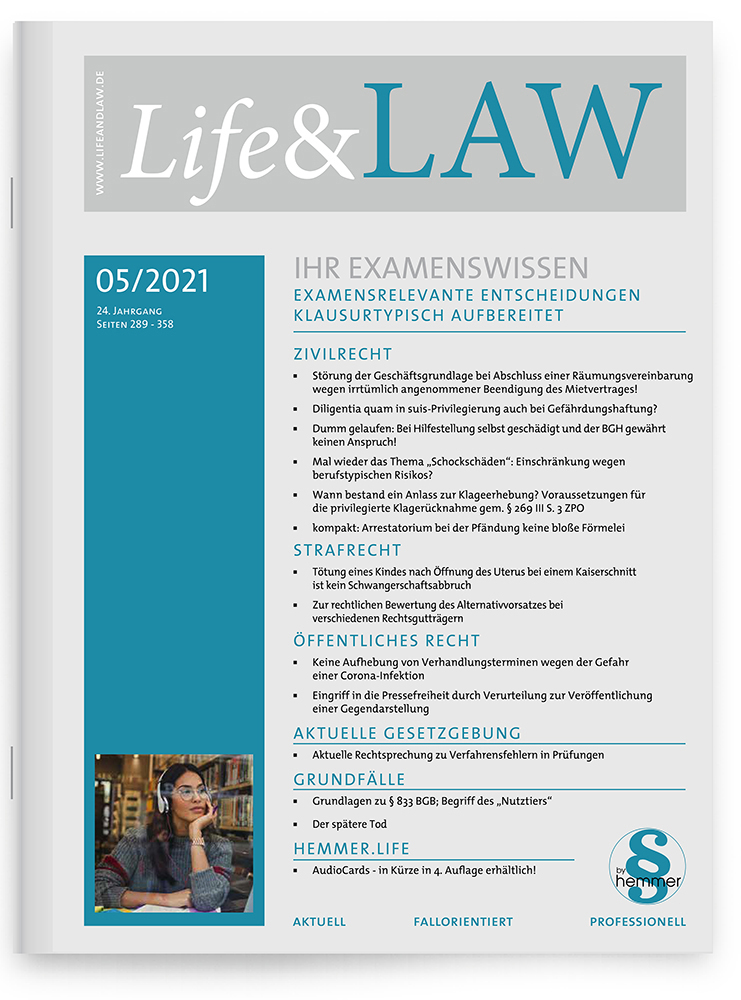Life&LAW Ausgabe 2021/05