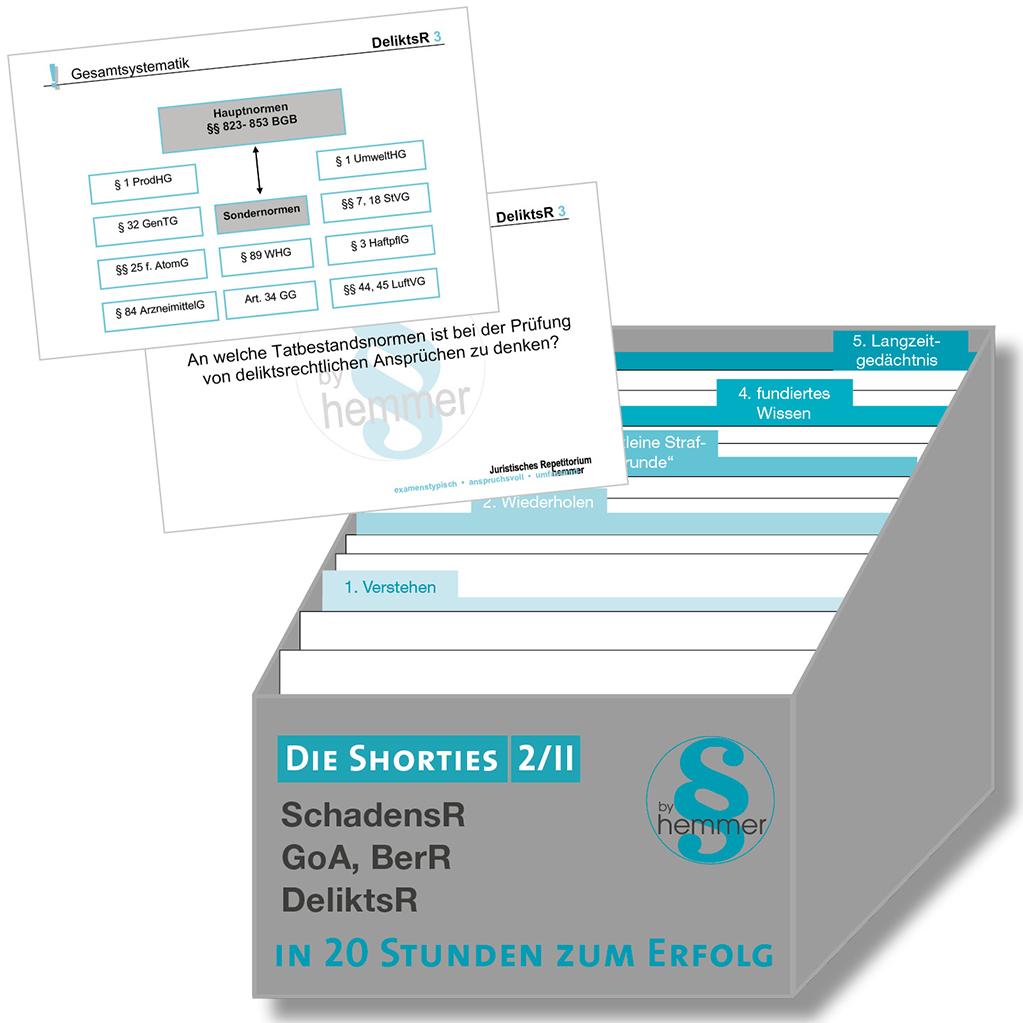 Shorties Box 2/II: Gesetzl. Schuldrecht
