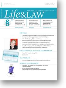 Life&LAW Ausgabe 2012/08